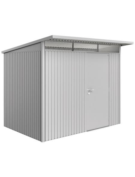BIOHORT Gerätehaus »AvantGarde«, B x T x H (Außenmaße): 260  x 220  x 218  cm