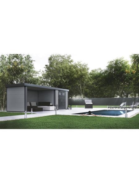 WOLFF FINNHAUS Gerätehaus »Eleganto 2724«, Außenmaße B x T: 268  x 238  cm