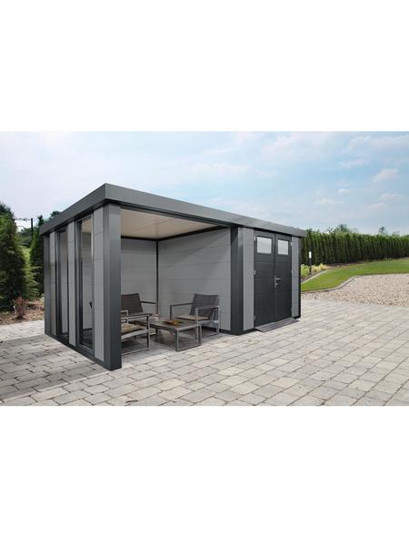 WOLFF FINNHAUS Gerätehaus »Eleganto 2724«, Flachdach
