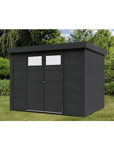 WOLFF FINNHAUS Gerätehaus »Eleganto 3024«, Außenmaße B x T: 298  x 238  cm