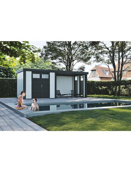 Gerätehaus »Eleganto 3024«, Flachdach