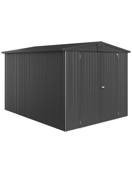 BIOHORT Gerätehaus »Europa«, Außenmaße B x T x H: 244  x 300  x 203  cm
