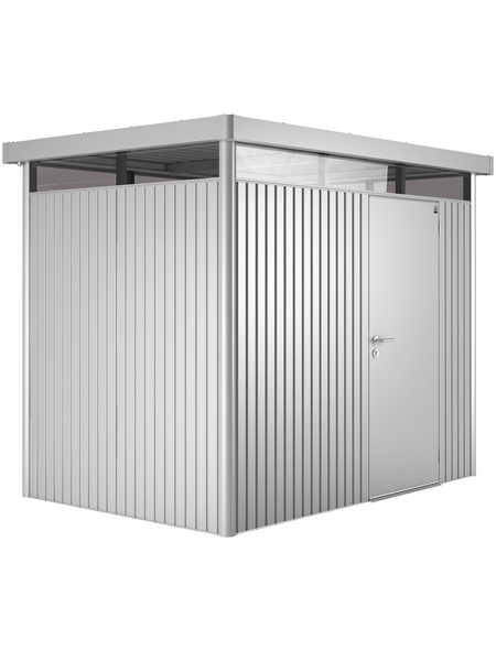 BIOHORT Gerätehaus »HighLine«, Außenmaße B x T x H: 275  x 195  x 222  cm