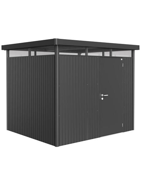 BIOHORT Gerätehaus »HighLine«, (B x T x H): 275 cm x 235 cm x 222 cm