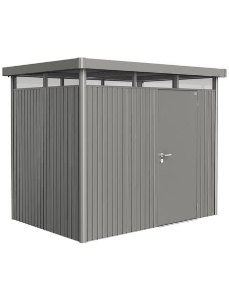 BIOHORT Gerätehaus »HighLine«, B x T x H (Außenmaße): 275  x 195  x 222  cm