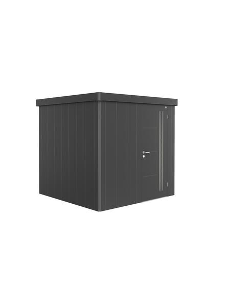 BIOHORT Gerätehaus »Neo 2B«, 10,2 m³, BxT: 236 x 236 cm