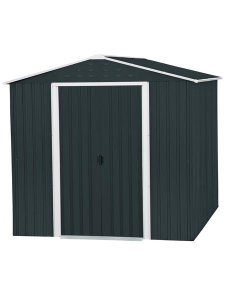 TEPRO Gerätehaus »Riverton«, Außenmaße B x T x H: 201  x 242,4  x 189,2  cm