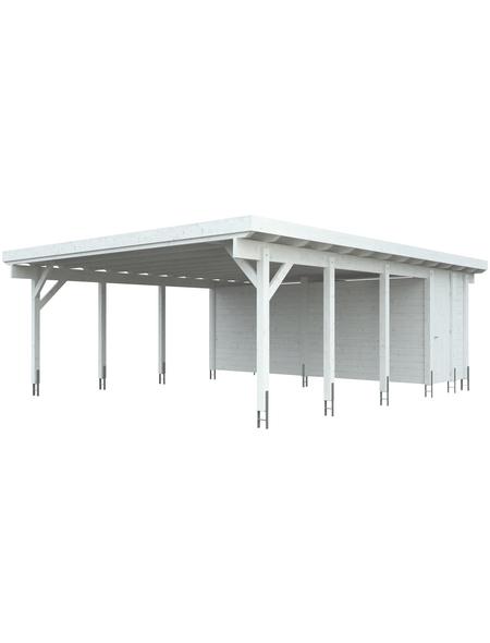 KIEHN-HOLZ Geräteraum, für für KH 330, weiß