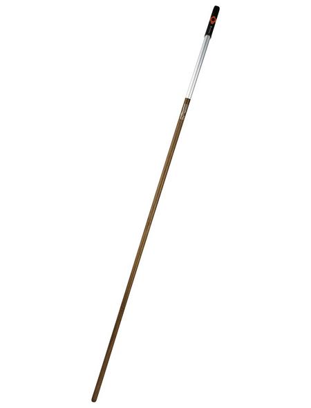 GARDENA Gerätestiel »Combisystem«, Stiellänge: 180 cm, Aluminium/Eichenholz