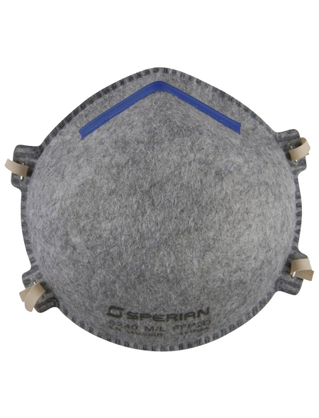 CONNEX Geruchschutzmaske, FFP2, Grau, Stoff