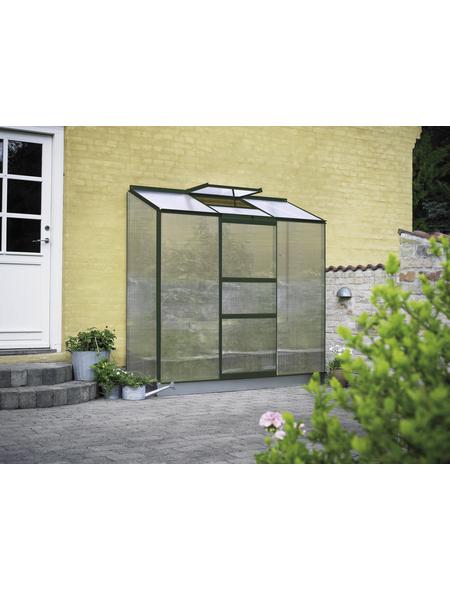 HALLS Gewächshaus »Altan«, 1,34 m², Kunststoff/Aluminium