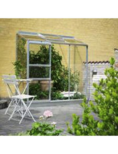 Gewächshaus »Altan«, B x L x H: 194  x 69  x 182  cm, Aluminium/Glas