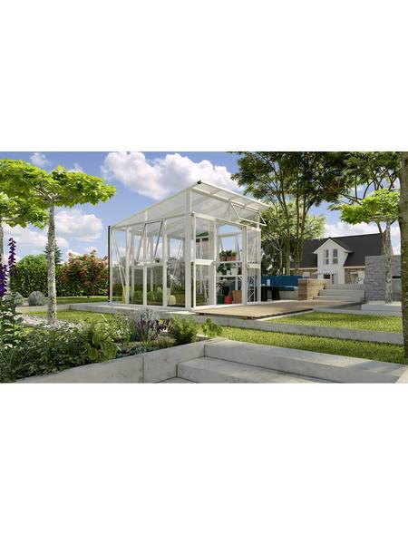 VITAVIA Gewächshaus »Aura«, B x L x H: 267  x 295  x 242,3  cm, Aluminium