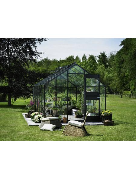 JULIANA Gewächshaus, B x L x H: 273  x 439  x 257  cm, Aluminium/Glas