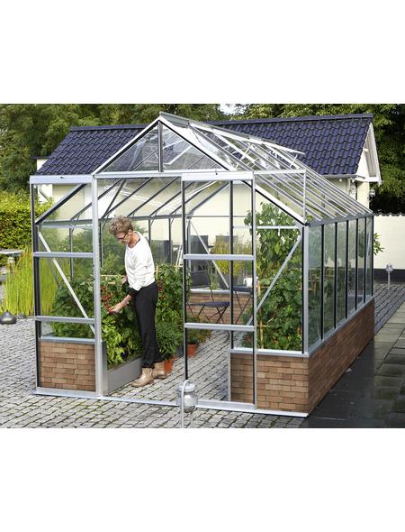 VITAVIA Gewächshaus »Cassandra«, 9,9 m², Aluminium/ESG Glas, winterfest