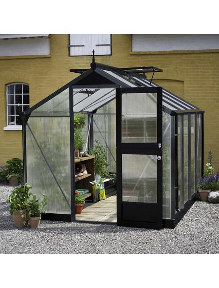JULIANA Gewächshaus »Compact«, B x L x H: 224  x 296  x 226  cm, Aluminium/Polycarbonat (PC)