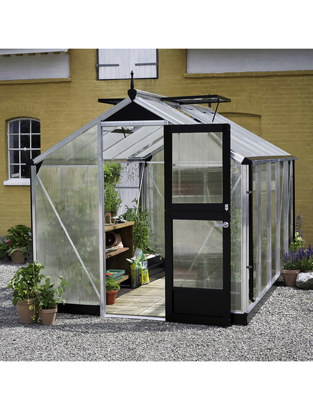 JULIANA Gewächshaus »Compact«, B x L x H: 224  x 368  x 226  cm, Aluminium/Polycarbonat (PC)