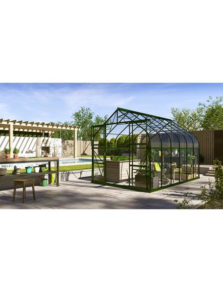 VITAVIA Gewächshaus »Dione«, 9,9 m², Aluminium/Glas, winterfest