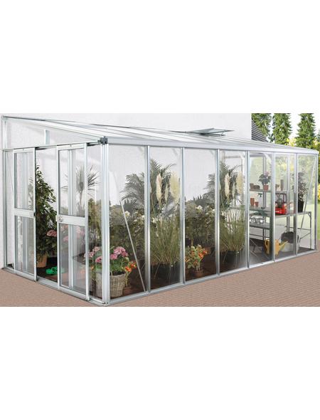 VITAVIA Gewächshaus »Helena«, B x L x H: 265,9  x 271,4  x 238,8  cm, Aluminium/Glas