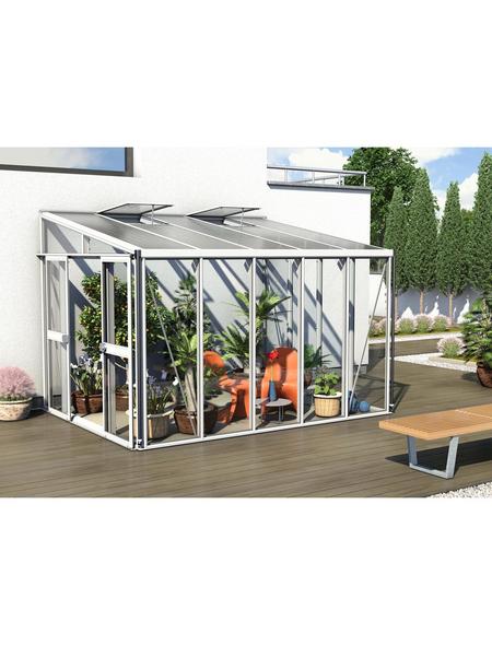VITAVIA Gewächshaus »Helena«, B x L x H: 265,9  x 334,3  x 238,8  cm, Aluminium/Glas