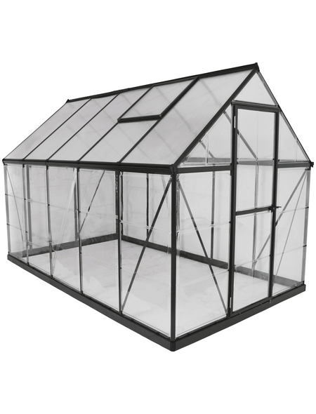 PALRAM Gewächshaus »Hybrid«, 5,4 m², Polycarbonat (PC), winterfest
