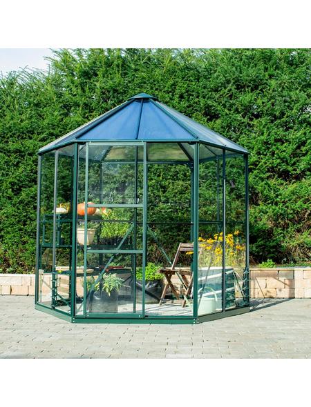 VITAVIA Gewächshaus »Juno«, 4,5 m², Kunststoff/Aluminium/ESG Glas, winterfest