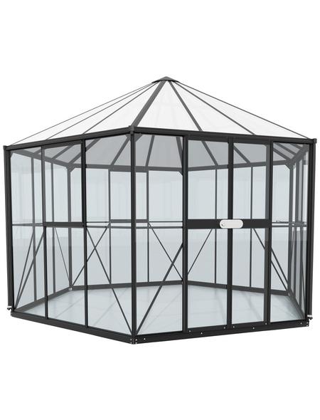 VITAVIA Gewächshaus »Juno«, 9 m², Kunststoff/Aluminium/ESG Glas, winterfest