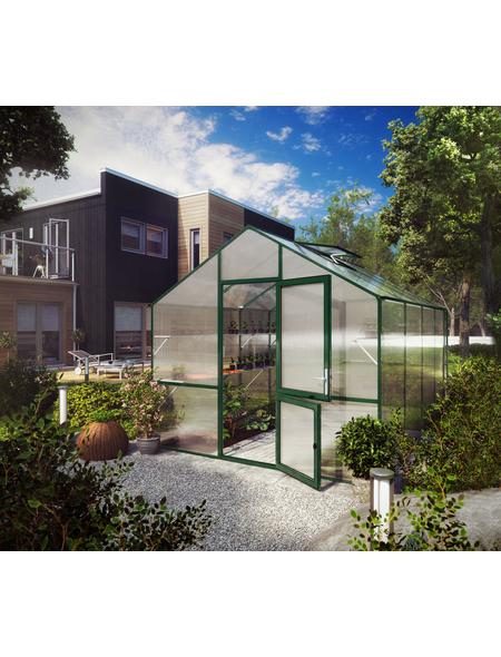 KGT Gewächshaus »Lilie«, 12,75 m², Kunststoff/Aluminium, winterfest
