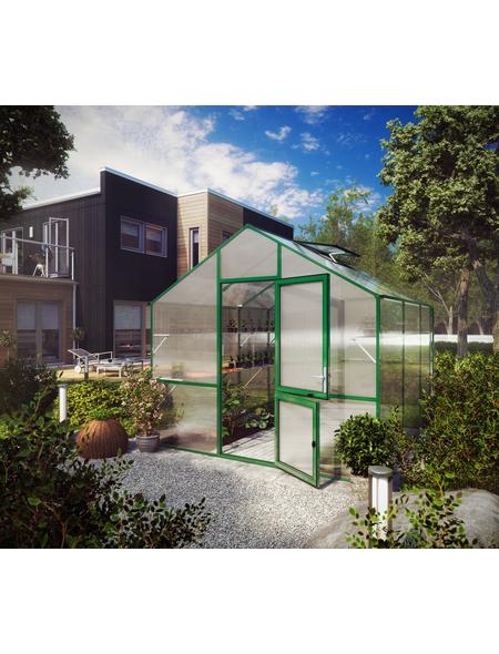 KGT Gewächshaus »Lilie«, 9,6 m², Kunststoff/Aluminium, winterfest