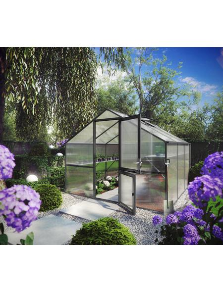 KGT Gewächshaus »Orchidee«, 9,6 m², Kunststoff/Aluminium, winterfest