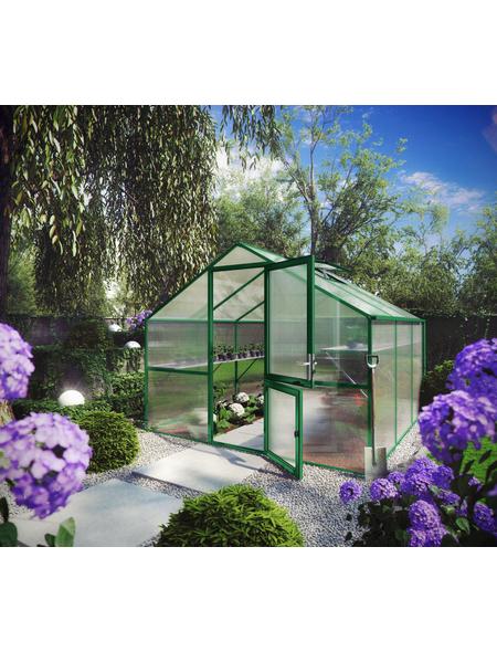 KGT Gewächshaus »Orchidee«, B x L x H: 297  x 323  x 233  cm, Aluminium/Polycarbonat (PC)