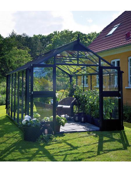 JULIANA Gewächshaus »Premium«, B x L x H: 296  x 296  x 267  cm, Aluminium