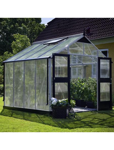 JULIANA Gewächshaus »Premium«, B x L x H: 296  x 296  x 267  cm, Aluminium/Polycarbonat (PC)