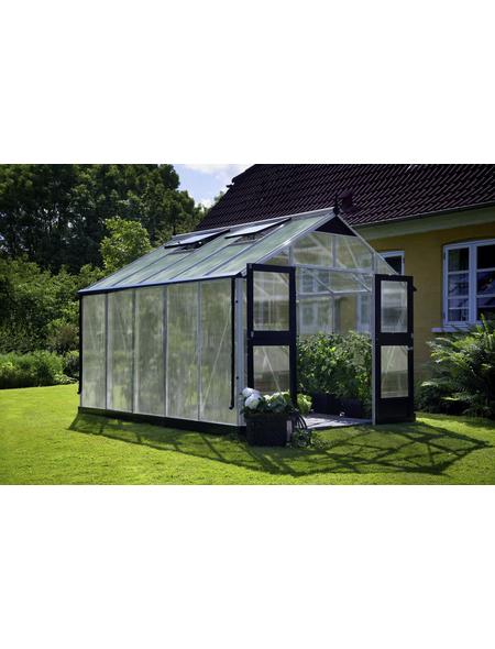 JULIANA Gewächshaus »Premium«, B x L x H: 296  x 368  x 267  cm, Aluminium/Polycarbonat (PC)