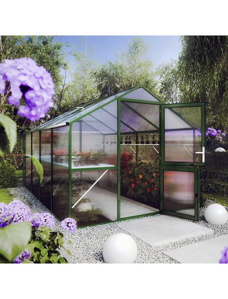 KGT Gewächshaus »Rose«, 10 m², Kunststoff/Aluminium, winterfest