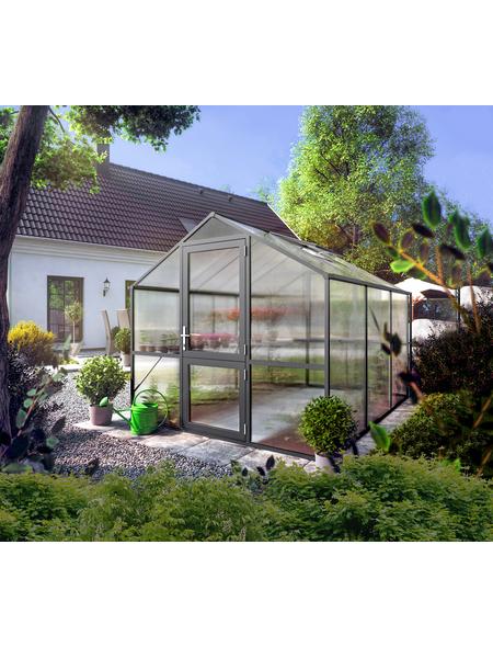 KGT Gewächshaus »Rose«, 7,53 m², Kunststoff/Aluminium, winterfest