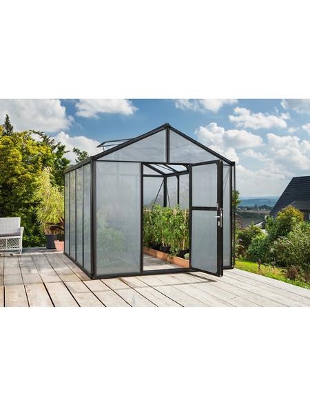 VITAVIA Gewächshaus »Zeus«, B x L x H: 258,4  x 316,4  x 250,4  cm, Aluminium/Polycarbonat (PC)