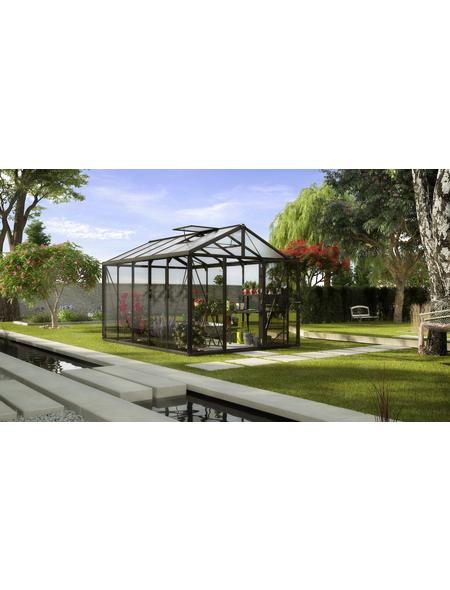 VITAVIA Gewächshaus »Zeus«, B x L x H: 258,4  x 390,8  x 250,4  cm, Aluminium/Glas