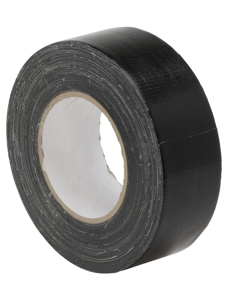 SWG Gewebeband, Länge: 2500 cm, schwarz