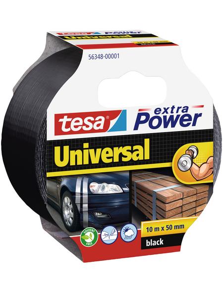 TESA Gewebeband, schwarz, BxL: 5 x 1000 cm