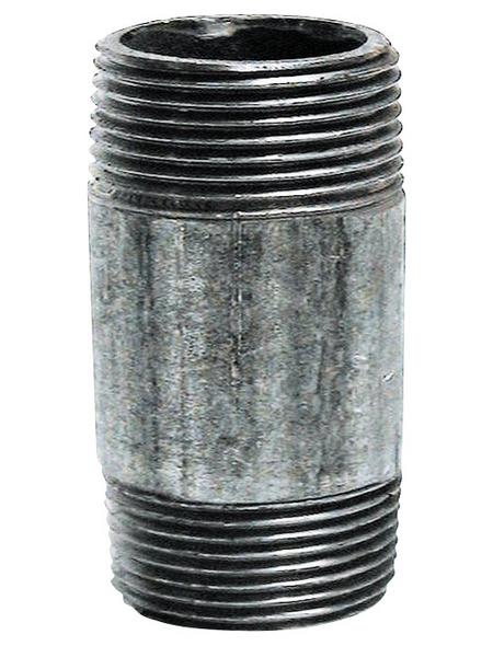 SANITOP-WINGENROTH Gewinderohr, Stahl, Ø x 150 cm