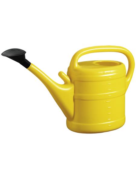 Gießkanne, 10 l, gelb, Höhe: 34 cm