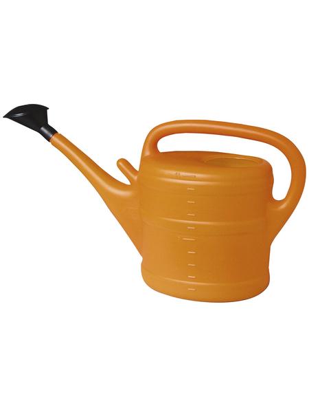 Gießkanne, 10 l, orange, Höhe: 34 cm