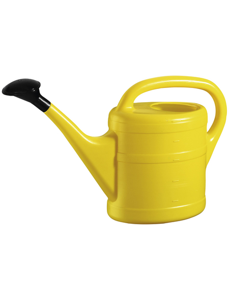 GELI Gießkanne, 5 l, gelb, Höhe: 26 cm