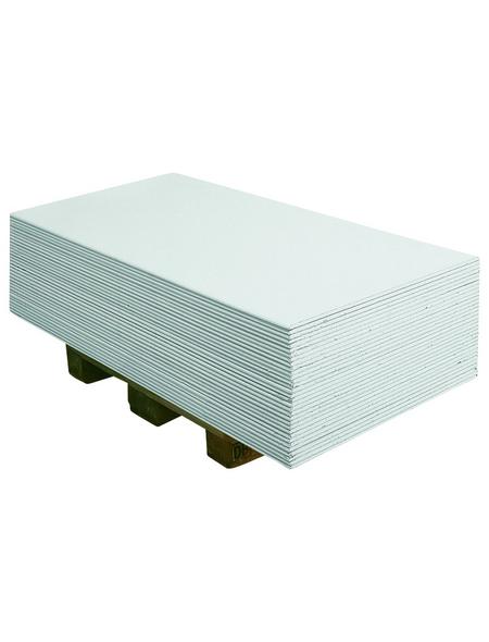 KNAUF Gipskartonplatte »GKB«, BxL: 1250 x 2000 x 12,5 mm, weiß