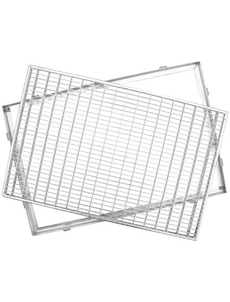 ACO Gitterrost, Stahl, 400 x 800 mm