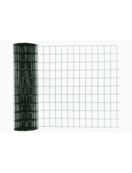 FLORAWORLD Gitterzaun, HxL: 100 x 2500 cm, grün