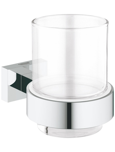 GROHE Glas »Essentials Cube«, chromfarben