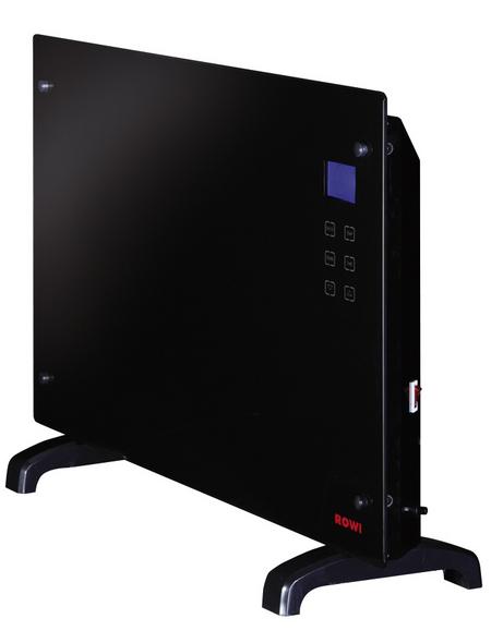 ROWI Glas-Wärmekonvektor »HGK 2000/2/1 TDF«, 2000 kW (max.), mit Timerfunktion