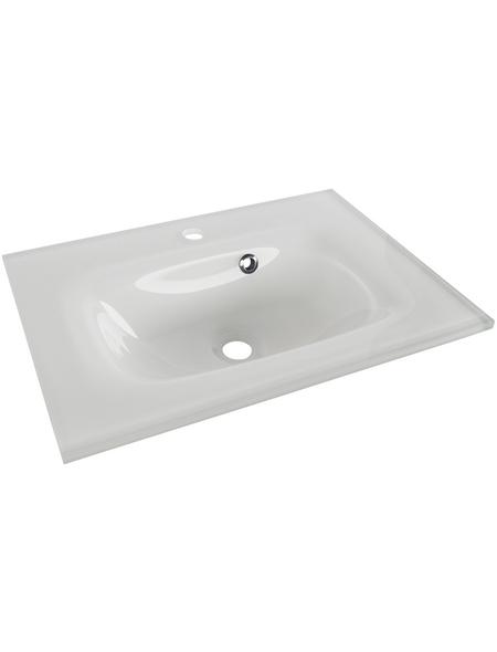 FACKELMANN Glas-Waschbecken Breite: 60,5 cm